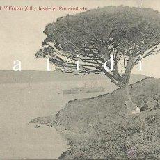 Postales: SANTANDER EL ALFONSO XIII DESDE EL PROMONTORIO FOTOTIPIA CASTAÑEIRA Y ÁLVAREZ RARÍSIMA. Lote 53143404