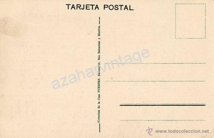 Postales: Santander El sardinero. Tranvias en primer plano. Coleccion Casa Fuertes. Sin circular - Foto 2 - 53259146