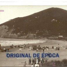 Postales: (PS-47086)POSTAL FOTOGRAFICA DE CANTABRIA-PLAYA BERRIA. Lote 53351835