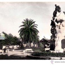 Postales: SANTANDER-MONUMENTO JARDINES DE PEREDA - ED GARCIA GARABELLA-Nº48-SIN CIRCULAR-COLOREADA DE ACORDEON. Lote 53452761