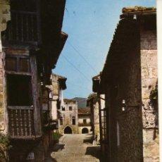 Postales: MAGNIFICA POSTAL CALLE TIPICA DE SANTILLANA DEL MAR (SANTANDER). Lote 53732175
