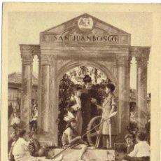 Postales: PS5811 SANTANDER 'CARROZA DE SAN JUAN BOSCO - COLEGIO SALESIANO'. CIRCULADA 1943. Lote 49222186