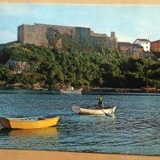 Postales: SAN VICENTE DE LA BARQUERA - CASTILLO. Lote 54822573