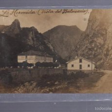 Postales: TARJETA POSTAL FOTOGRAFICA DE LA HERMIDA, VISTA DEL BALNEARIO. SANTANDER.. Lote 55392602