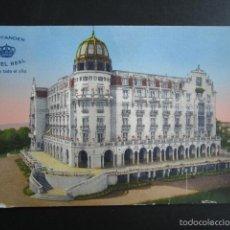 Postales: POSTAL SANTANDER. HOTEL REAL. . Lote 56467704