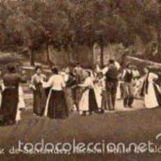 Postales: POSTAL ORIGINAL DECADA 1930, SANTANDER, ALCEDA, BAILE DE ALDEANOS. LEER, VER TAMAÑO Y EXPL.. Lote 56727268