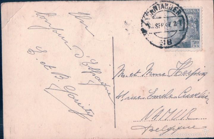 Postales: POSTAL 4- SANTANDER. LA RIVERA. CIRCULADA. - Foto 2 - 56796206