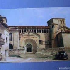Postales: POSTAL DE SANTILLANA (SANTANDER) - 1 - LA COLEGIATA (FOURNIER, ESCRITA). Lote 57141234