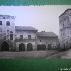 Postales: POSTAL - ESPAÑA - SANTANDER - SANTILLANA DEL MAR - PLAZA DE ISABEL II Y CASA BORJA - DOMINGUEZ. Lote 57142381