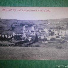 Postales: POSTAL - ESPAÑA - SANTANDER - SANTILLANA DEL MAR - 11 VISTA PANORÁMICA - ADOLFO HERRERO - SIN . Lote 57142462