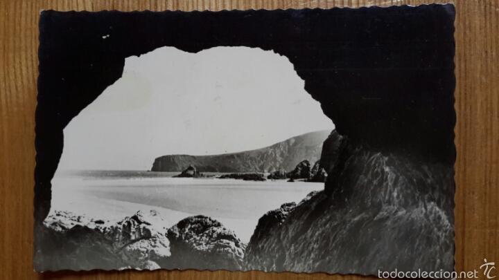 UNQUERA (SANTANDER). PLAYA DE LA FRANCA. ED. FOTO SANCHEZ. 1959 (Postales - España - Cantabria Moderna (desde 1.940))