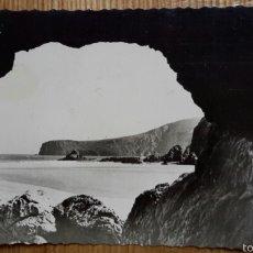 Postales: UNQUERA (SANTANDER). PLAYA DE LA FRANCA. ED. FOTO SANCHEZ. 1959. Lote 57284786
