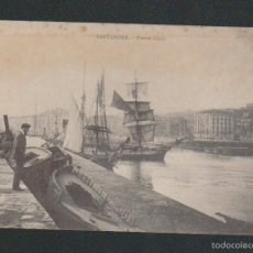Postales: SANTANDER.PUERTO CHICO.ED.M.N.PARIS.SIN CIRCULAR.. Lote 57487772