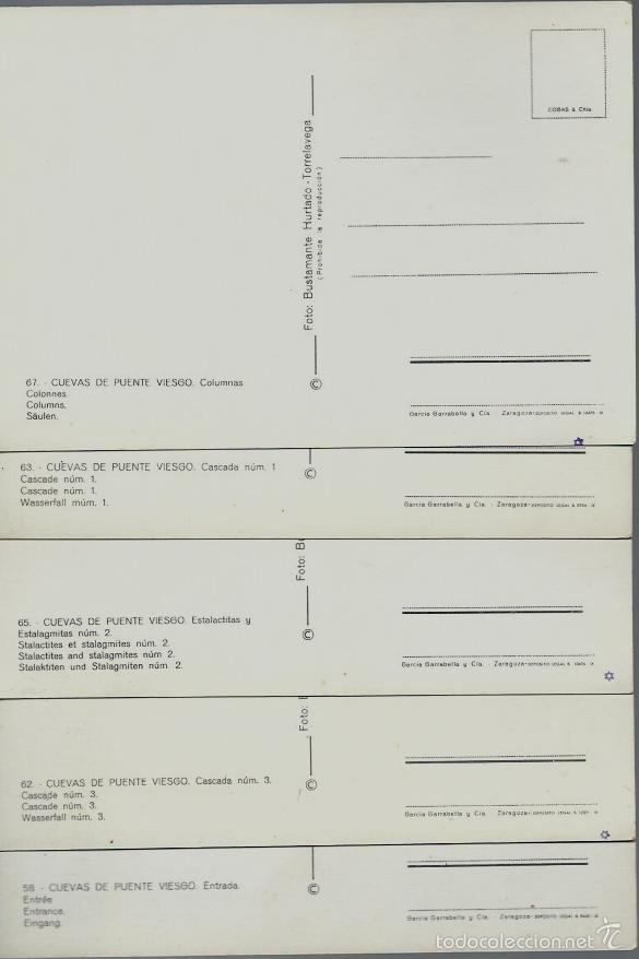 Postales: LOTE 7 POSTALES DE LAS CUEVAS DE PUENTE VIESGO - SANTANDER - NUEVAS SIN CIRCULAR - Foto 3 - 57546609