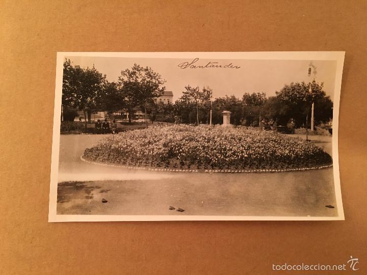 Postales: CANTABRIA - PLAYA DE SANTANDER - 2 FOTOGRAFIA S ANTIGUA S SARDINERO - 1920 - Foto 3 - 57627216
