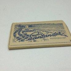 Postales: SANTANDER ACORDEON 9 POSTALES EN MINIATURA SANTANDER II. Lote 57658143