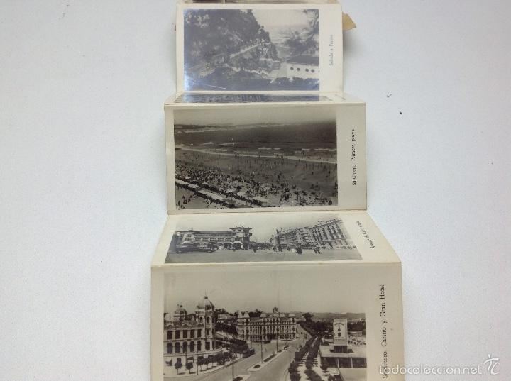 Postales: SANTANDER ACORDEON 9 POSTALES EN MINIATURA SANTANDER II - Foto 4 - 57658143