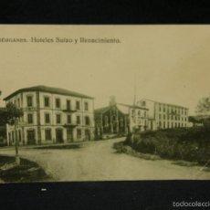 Postales: POSTAL LIÉRGANES HOTELES SUIZO Y RENACIMIENTO 1922 EDICIÓN RAFAEL MARTÍNEZ PAPELERÍA. Lote 57701061