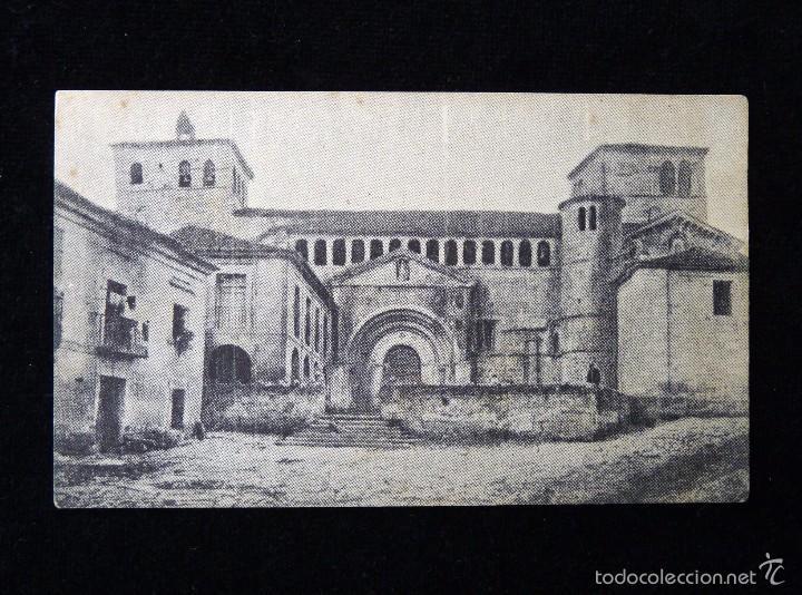 ANTIGUA POSTAL DE SANTILLANA DEL MAR (CANTABRIA) LA COLEGIATA. AÑOS 20 (Postales - España - Cantabria Antigua (hasta 1.939))