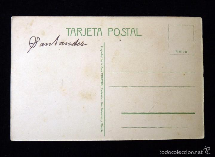 Postales: ANTIGUA POSTAL DE HOZNAYO (CANTABRIA) . GRUTAS DEL DIABLO. ED. CASA FUENTES. AÑOS 20. SIN CIRCULAR - Foto 2 - 57881094
