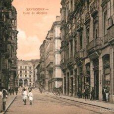 Postales: SANTANDER - CALLE DE MARTILLO - PALACIOS. Lote 57991462