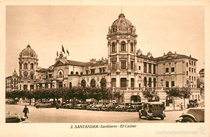 SANTANDER - SARDINERO - EL CASINO - ROISIN Nº2 (Postales - España - Cantabria Antigua (hasta 1.939))