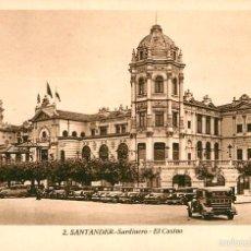 Postales: SANTANDER - SARDINERO - EL CASINO - ROISIN Nº2. Lote 57991479