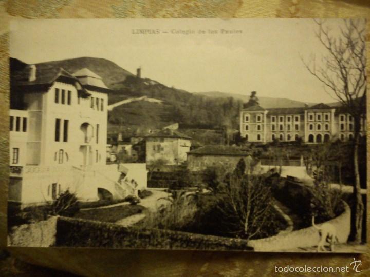 POSTAL. COLEGIO DE LOS PAULES. LIMPIAS. SANTANDER. (Postales - España - Cantabria Moderna (desde 1.940))