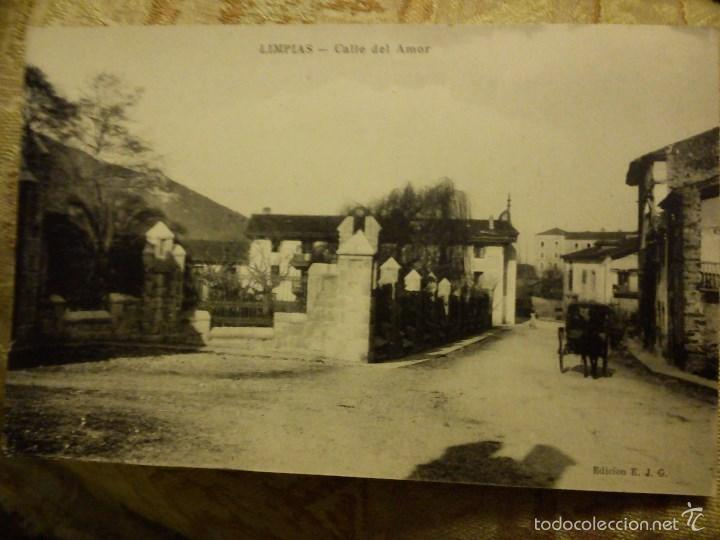 POSTAL LIMPIAS. SANTANDER. CALLE DEL AMOR. (Postales - España - Cantabria Moderna (desde 1.940))