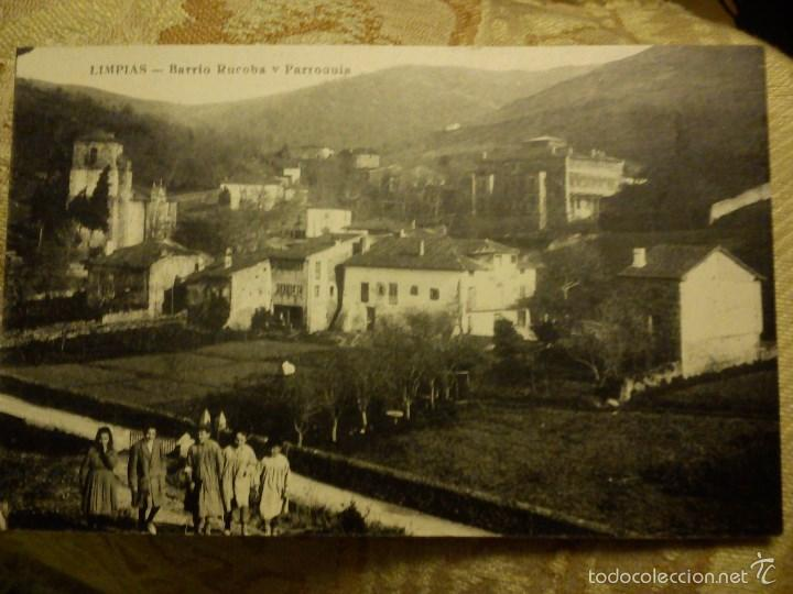 POSTAL. LIMPIAS. SANTANDER. BARRIO RUCOBA Y PARROQUIA. (Postales - España - Cantabria Moderna (desde 1.940))