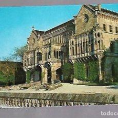 Postais: TARJETA POSTAL DE COMILLAS, CANTABRIA - PALACIO DEL MARQUES DE COMILLAS. FOTO ROZAS. Lote 62515448