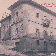Postales: POSTAL LIMPIAS.- BARRIO DEL RIVERO, CASA DE ALVARADO. LIBRERIA RELIGIOSA. Lote 64446715