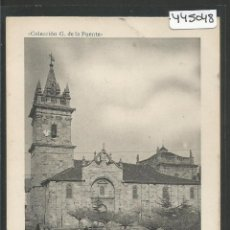 Postales: REINOSA -5 - IGLESIA SAN SEBASTIAN - G.DE LA PUENTE-FOT. LACOSTE-VER REVERSO-(ZG-45.048). Lote 64500911