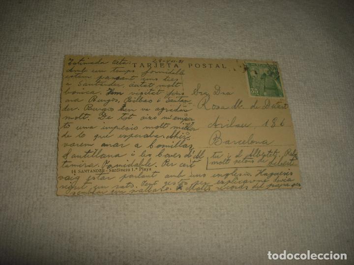 Postales: SANTANDER 14 . SARDINERO 1 PLAYA . DOMINGUEZ - Foto 2 - 65697178
