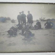 Postales: FOTOGRAFIA DE FUNCIONARIOS DE LA COLONIA PENITENCIARIA DEL DUESO, CANTABRIA, AÑO 1913, MIDE 17,8 X 1. Lote 65738278