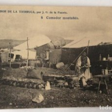 Postales: POSTAL. EL SABOR DE LA TIERRUCA. G. DE LA PUENTE. 8 COMEDOR MONTAÑÉS. CANTABRIA.. Lote 67050346