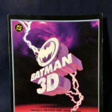 Postales: BATMAN 3D JOHN BYRNE NOVELA GRÁFICA ZINCO INCLUYE GAFAS. Lote 67592281