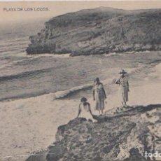Postales: SUANCES - PLAYA DE LOS LOCOS. Lote 68186661