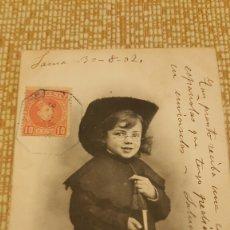 Postales: POSTAL COLECCION NINO. NUM 2. PROPIEDAD R. PACHECO. SANTANDER. Lote 68601911