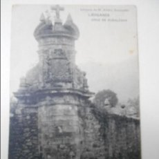 Postales: LIERGANES. CRUZ DE RUBALCAVA. POSTAL DE LIBRERIA DE M. ALBIRA SANTANDER. . Lote 68762877