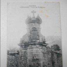 Postales: LIERGANES. CRUZ DE RUBALCAVA. POSTAL DE E. CABRILLO, TORRELAVEGA. SELLADA. . Lote 68763121