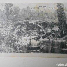 Postales: LIERGANES. PUENTE ANTIGUO. POSTAL DE E. CABRILLO, TORRELAVEGA. SELLADA. . Lote 68764077