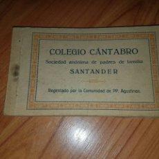 Postales: COLEGIO CANTABRO PADRES DE FAMILIA. Lote 70065123