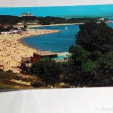 Postales: POSTAL ESPAÑA SANTANDER PLAYA DE LA MAGDALENA AÑOS 70. NUEVA. Lote 70499085