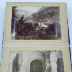 Postales: SANTA MARIA DE LEVEÑA, LEBEÑA, SANTANDER 1897, RESTAURACION DE LA IGLESIA, CON 6 FOTOGRAFIAS PARECEN. Lote 71154081