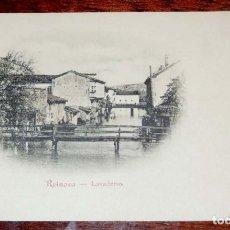 Postales: REINOSA (CANTABRIA) LAVADEROS, COLECCION G. DE LA PUENTE, SERIE A Nº 4 , SIN CIRCULAR Y SIN DIVIDIR. Lote 71198997
