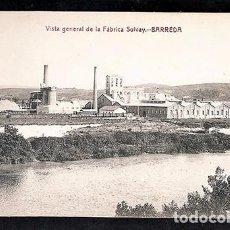 Postales: VISTA GENERAL DE LA FABRICA SOLVAY- BARREDA.(TORRELAVEGA). Lote 73818743
