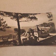 Postales: POSTAL DE SANTANDER - PLAYA Y PARQUE DE LA MAGDALENA - ESCRITA Y CIRCULADA . Lote 80044501