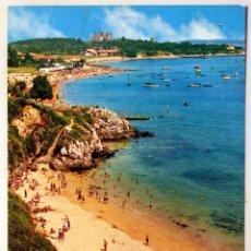 Postales: SANTANDER. PLAYAS Y PALACIO DE LA MAGDALENA.. Lote 82105144