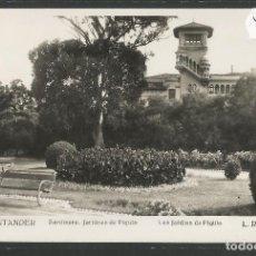 Postales: SANTANDER -130- SARDINERO JARDINES DE PIQUIO - FOTOGRAFICA ROISIN - (47.570). Lote 82891312